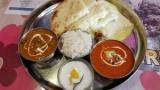 昼に食べたインド(ネパール)カレー屋のチーズナンセットwww(※画像あり)