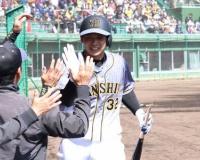 【阪神】ドラ2井上 教育リーグで適時打、連日アピール!!