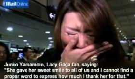 【日本のファン】  レディガガ 7度目の来日で 号泣する日本人に 海外があきれる。   海外の反応