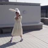 『【乃木坂46】与田ちゃん、スカート透けてる・・・可愛すぎる『うさぎさんのぴょこぴょこダンス』がこちら・・・【動画あり】』の画像