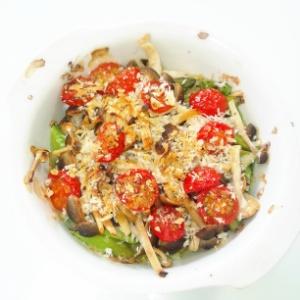 アスパラとトマトのオーブン焼き