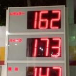 『ガソリンの値上げが止まらない!ここ最近の浜松のGS平均価格』の画像