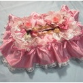 宝塚(タカラヅカ)化粧前一式◆ピンク×バラ◆ティッシュカバー