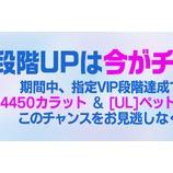 『【クリティカ ~天上の騎士団~】「VIP段階UPは今がチャンス!」キャンペーンのご案内※追記』の画像