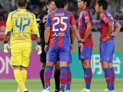 【 動画 】FC東京戦での新潟のゴールがいろいろ面白いwww