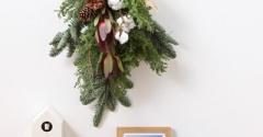 【無印】今年はどれによう…新作クリスマスリース・スワッグも素敵です!