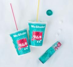 爽快感がハンパないマクドナルドのマックシェイク森永ラムネが数量限定で登場!オリジナルカップは完売する前にゲットすべき一品ですよ