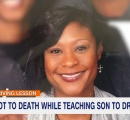 息子に運転を教えていた母親、接触事故を起こして射殺される …米国
