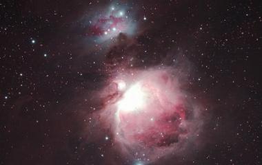 『オリオン座の大星雲トリミング拡大(再処理)』の画像