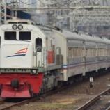 『このまま定期列車格上げか?急行Mataram』の画像