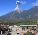 【画像】 グアテマラの「炎の火山」噴火
