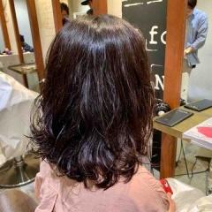 表参道 神宮前 東京 都内で美髪パーマが得意な美容室MINX原宿☆須永健次☆ロングボブに大人っぽいパーマを、、、