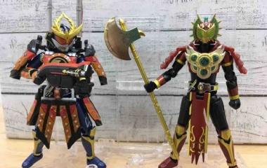 『装動クロニクル 鎧武 ヨモツヘグリ カチドキアームズ』の画像