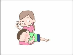 【4コマ漫画】限られたセリフ【閲覧注意】