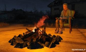 居住地に設置できる焚き火MOD
