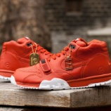 『6/29発売予定 NikeLab x Fragment Air Trainer 1 Mid Rust』の画像