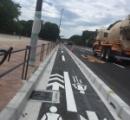 【悲報】日本人、ありえない狭さの自転車道を作ってしまうwww