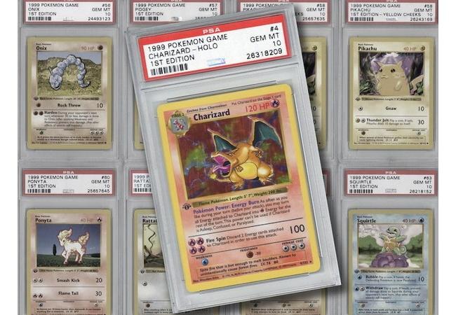 初期ポケモンカード103枚、とんでもない値段で落札