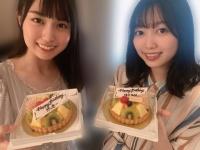 【乃木坂46】この2人はケーキの大きさ同じなんだなwwwwww