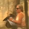 山火事に苦しむオーストラリアにて、全身にやけどを負ったコアラを女性が救助。(少々閲覧注意)