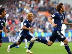 【 日本代表 vs セネガル 】前半終了!マネのゴールで先制を許すも、乾が見事な同点弾!1-1で折り返す!