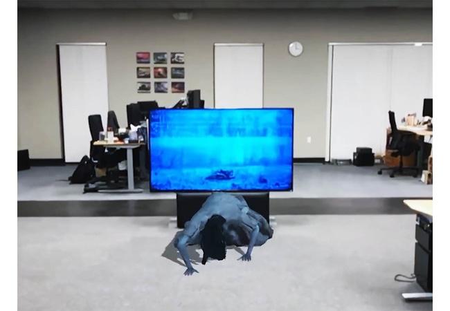 進化したVRゲーム凄い!テレビから幽霊登場 , 亡くなった人と会えるVR故人も可