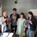 水戸華之介とゴスペルグループVOJA-tensionメンバーの朝日美貴がFM世田谷番組「昭和バンザイ」(提供:西部ピアノ)に出演します!