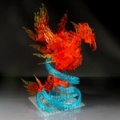 レゴで「不死鳥」を作ってみました。