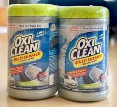 【コストコ】オキシクリーンの掃除シートが丈夫で強力で楽チン!ブログでレポ