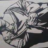 マツコ・デラックスの切り絵作りました(画像あり)