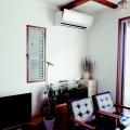 DIY☆漆喰でモルタル造形風朽ちたレンガの汚なかわいい壁