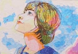 【乃木坂46】ちぎり絵アート「君の名は希望」が泣ける... 【動画あり】