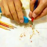 『先輩の教え(その1)「鉛筆の削り方と危機管理」』の画像