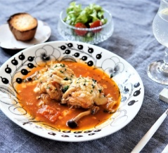 【外出自粛】おすすめ時短絶品レシピ!ロール白菜のトマトスープ煮♪【#うちで過そう】