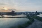 私市の百重ヶ原橋周辺で絶景な田園風景に出会えた!~カメラさんぽ~
