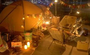 「ガチでオシャレ」な家キャンプ