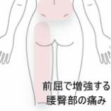 『産後の臀部痛の症例を追加しました。』の画像