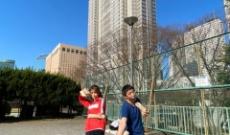 元乃木坂46メンバーとさらば 森田が新宿のど真ん中で…