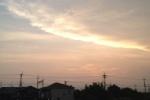 雲がぶわーって広がっていくその先端が神々しい~Photo by キララちゃん~