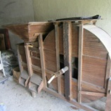 『足踏み脱穀機と唐箕の修理』の画像
