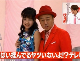 【朗報】小島瑠璃子さん、さまぁ~ずに胸を揉まれる