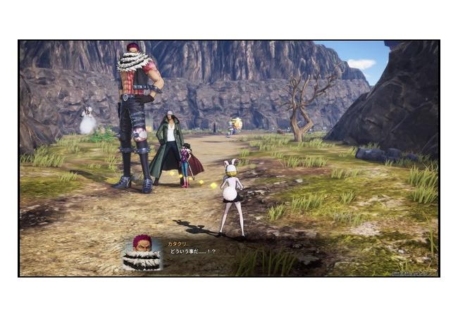 【悲報】ワンピース海賊無双4、ゲームで身長を再現した結果wwwwwwwwww