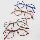 『カラフルなクラシックデザインフレーム!?『zio eyewear(ジオ アイウェア)』』の画像