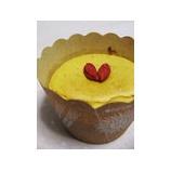 『薬膳スイーツ「枸杞子(クコの実)のベイクドチーズケーキ」』の画像