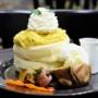 【日吉】Cafe du Paris カフェドゥパリ 安納芋のパンケーキ~焼き芋添え~