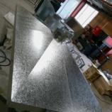 『【亜鉛鋼板製山型フード製作】』の画像