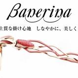 『日本の眼鏡の産地「鯖江」の新しい発想を取り入れた眼鏡ブランド『Banerina(バネリーナ)』を本日入荷しました。』の画像