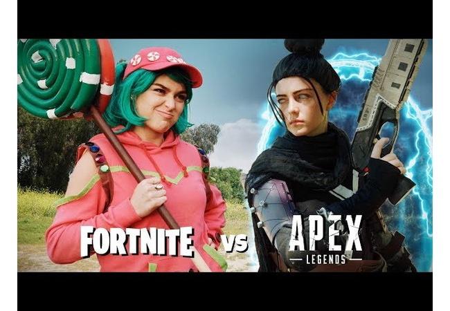 【動画】『Fortnite vs Apex Legends』第2弾公開!