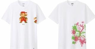 ユニクロ、『スーパーマリオ』と『スプラトゥーン』の新作Tシャツコレクションを4月より発売!