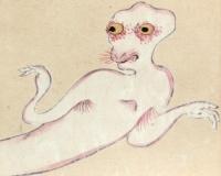 【画像】古い妖怪の絵って普通に怖くね??????